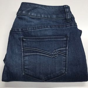THE LIMITED DENIM 312 Womens 8 Blue Jeans